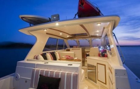 Agencement Yacht solid surface