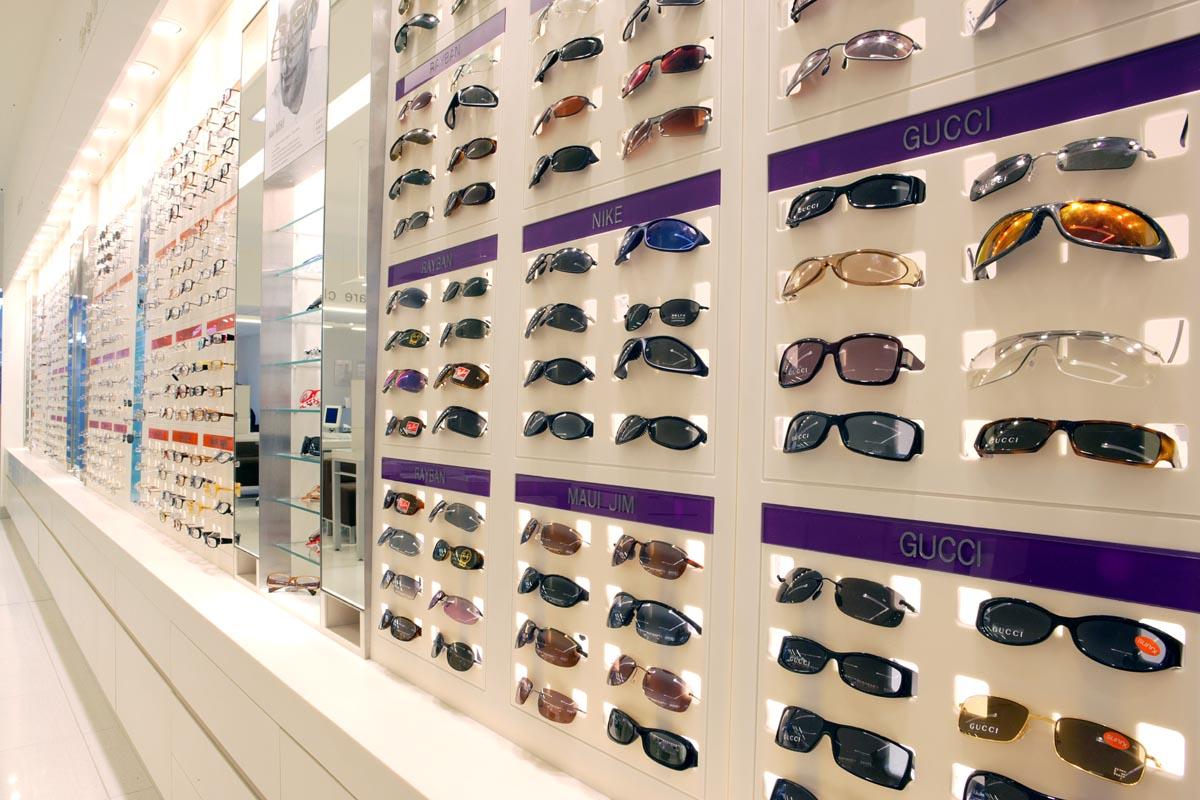 Présentoir à lunettes solid surface