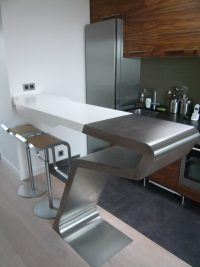 Comptoir cuisine solid surface