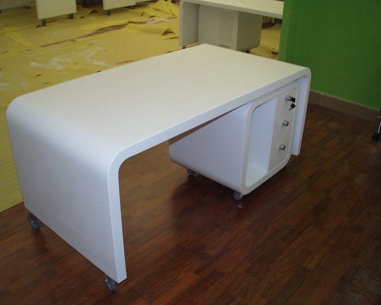 Table en solid surface