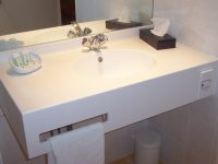 Plan vasque solid surface
