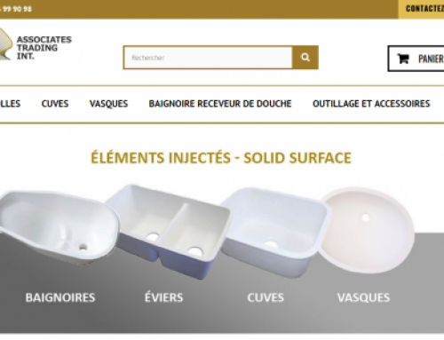 Online Store – Solid surface
