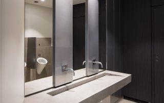 plan vasque solid surface
