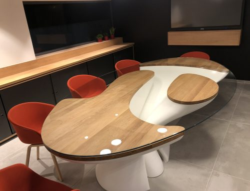 Table Angelotti en Solid Surface